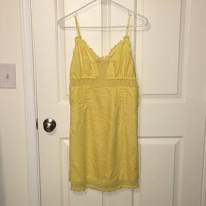 Miss60 Yellow linen sundress